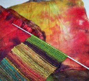 Jayne's mawata knitted