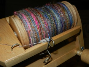 5 spinning the base yarn (2)
