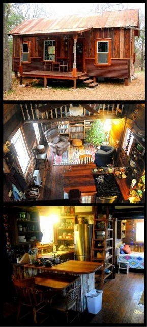 Source: http://hookedonhouses.net/2011/08/25/texas-tiny-houses-pure-salvage-building/. Used with permission.