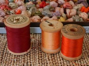 mostly silk thread
