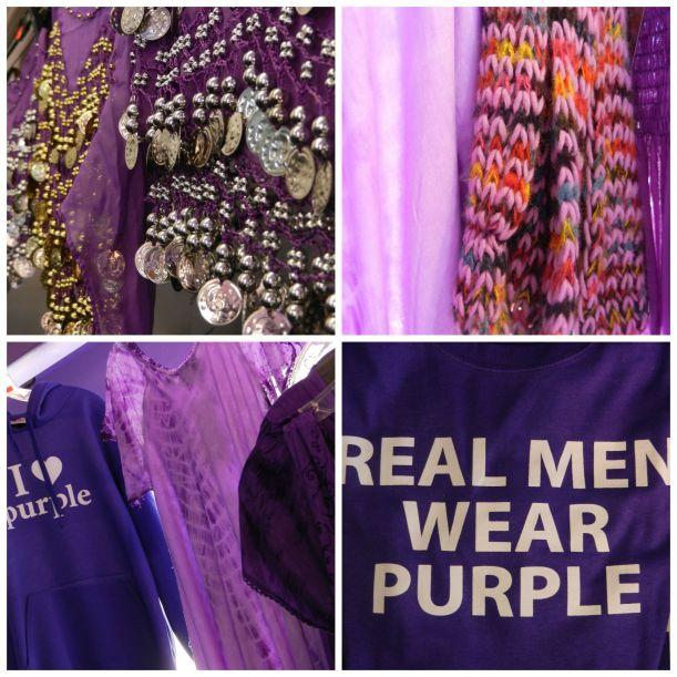 purple store wares