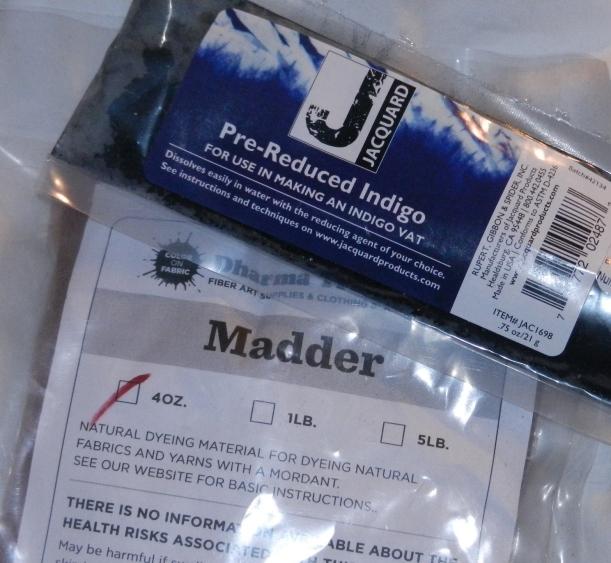 Indigo and Madder