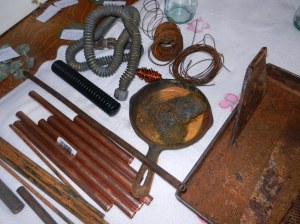 Rust Dyeing Paraphernalia