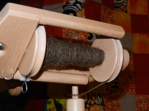 One bobbin done.