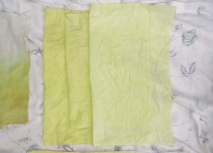 Cottons. Three shades.