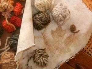 matching the yarns (16)