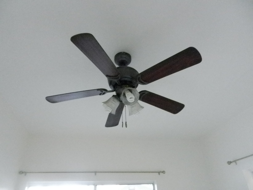 Ceiling fans for when it's 95 degrees at ten o'clock at night.
